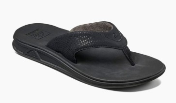Reef Rover male slippers all black