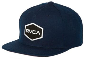 RVCA Commonwealth snapback cap navy