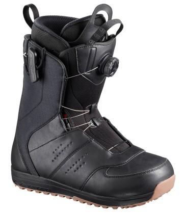 Salomon Launch BOA SJ snowboard boots black