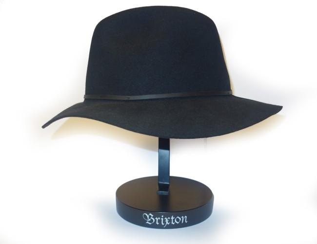 Brixton Wesley Fedora hat black a015a5f676d
