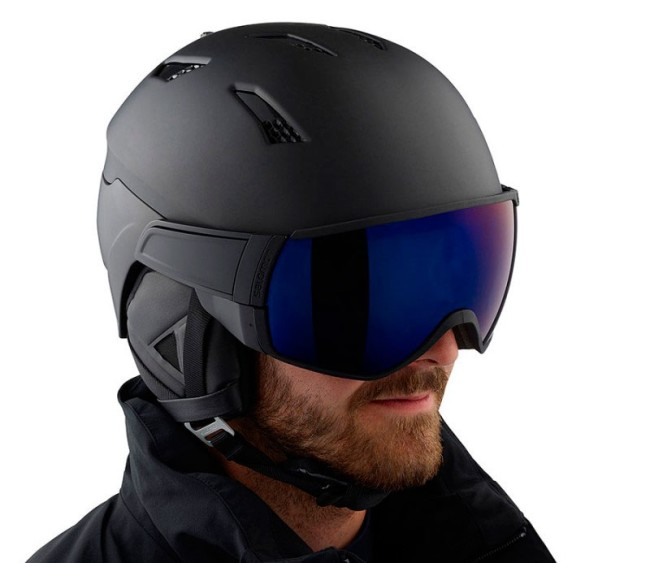 SALOMON DRIVER + PHOTO Ski helmet