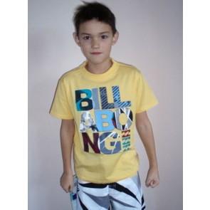 Billabong Carbon SS t-shirt yellow