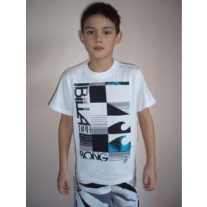 Billabong Half cut SS boys t-shirt white