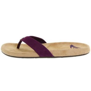 Roxy Vamonos ladies slipper purple