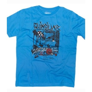 Quiksilver Toasty boys T-shirt costa azul