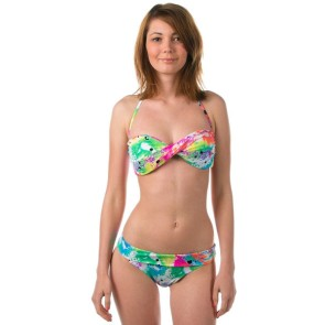 Roxy No worries roll top brief bikini