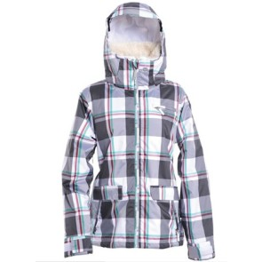 Roxy Begin Plaid snowboard jacket (size L)