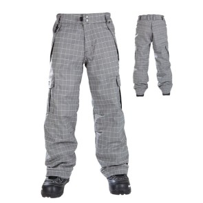 686 Mannual Ridge insulated pants gunmetal plaid youth