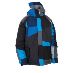 686 Boys Mannual Max jacket royal blue 5K (boys L 10-12 yrs)