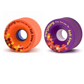 Orangatang Fat Free 65 mm wheels