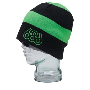686 Weld Fleece beanie green black