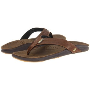 2bd144c62c45 Reef J-Bay 3 male leather slippers camel
