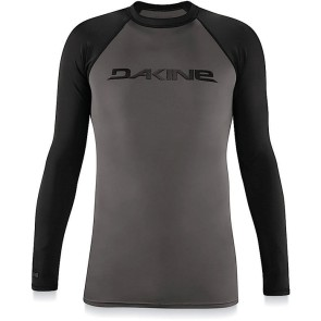 Dakine Heavy duty long sleeve rashguard black
