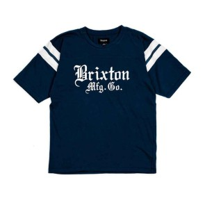 Brixton Vincent Knit T-shirt navy