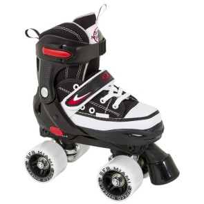 SFR Miami adjustable roller skates black/red