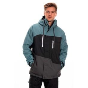 686 Geo insulated snowboard jacket 10K goblin blue