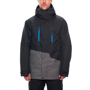 686 Geo insulated snowboard jacket black 10K