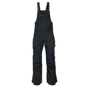 686 Hot lap insulated BIB snowboard pant 15K black