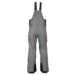 686 Hot lap insulated BIB snowboard pant 15K grey melange 2020