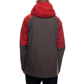 686 Hydra thermagraph 20K jacket rusty red colour block
