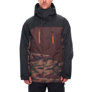 686 Geo insulated jacket dark camo 10K