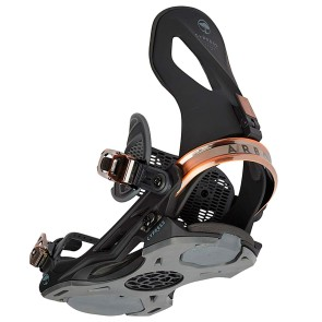 Arbor Cypress snowboard bindings black 2020
