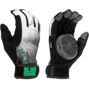Blood Orange Slide Gloves James Kelly black-grey