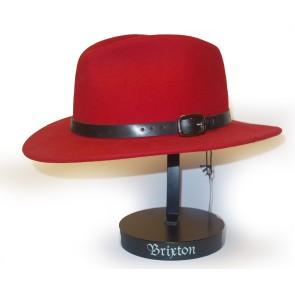 Brixton Deidre hat red