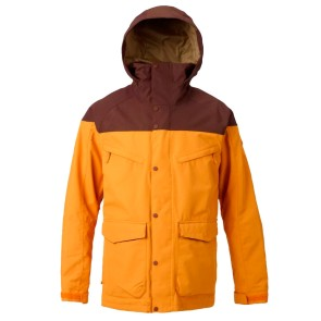 Burton Breach snowboard jacket golden oak - chestnut 10K