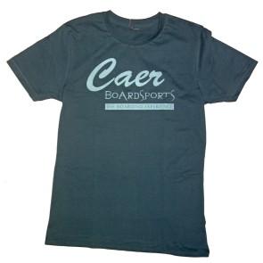 Caer boardsports Logo ton-sur-ton t-shirt pale dark green