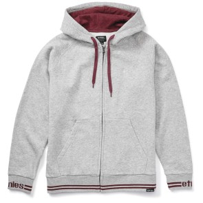 Etnies Johnson Zip hooded grey heather