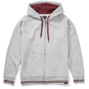 Etnies Johnson Zip hooded grey heather