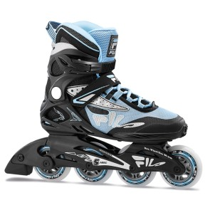 FILA Legacy Comp 80 lady inline skates black blue