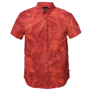 Globe Forester shirt short sleeve auburn