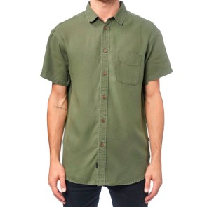 Globe Sometime shirt woodland green
