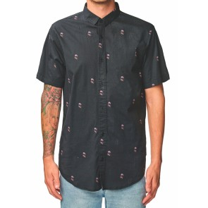 Globe Wasteland SS Shirt washed black