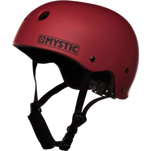 Mystic MK8 wakeboard helmet dark red