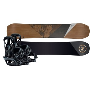 Nidecker Escape AM snowboard set + United bindings 2020