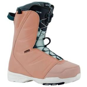 Nitro Flora female snowboards boots pink 2020