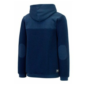 Picture Come male zip hoodie blue