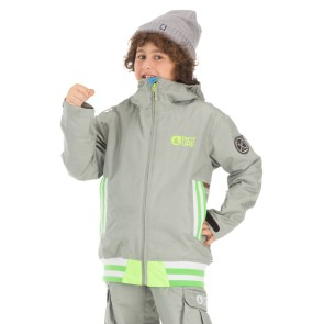 Picture Organic Clothing Park Avenue jacket grey youth