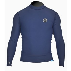 Pro Limit rashguard Logo silk long arm (LA) dark blue
