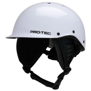 Pro Tec Two face wakeboard helmet gloss white