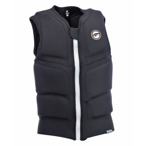 ProLimit Stretch vest full padded FZ black-white