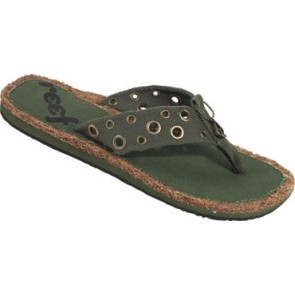Reef Kokho slippers olive