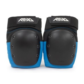 Rekd Ramp knee protection pads black-blue