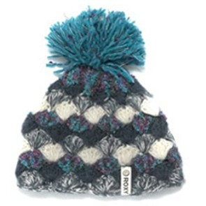 Roxy Past Time beanie chicory blue
