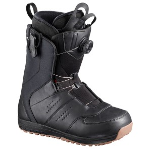 Salomon Launch BOA SJ snowboard boots black