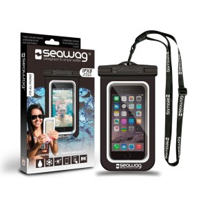 Seawag waterproof case for smartphone black