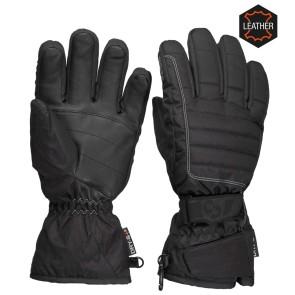 Sinner Mullan gloves leather black ladies
